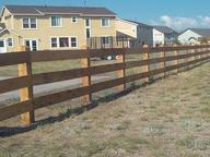 Ranch style fence builder